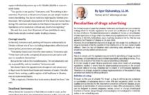 Rechtsanwalt Ukraine: drugs advertising doing business in Ukraine