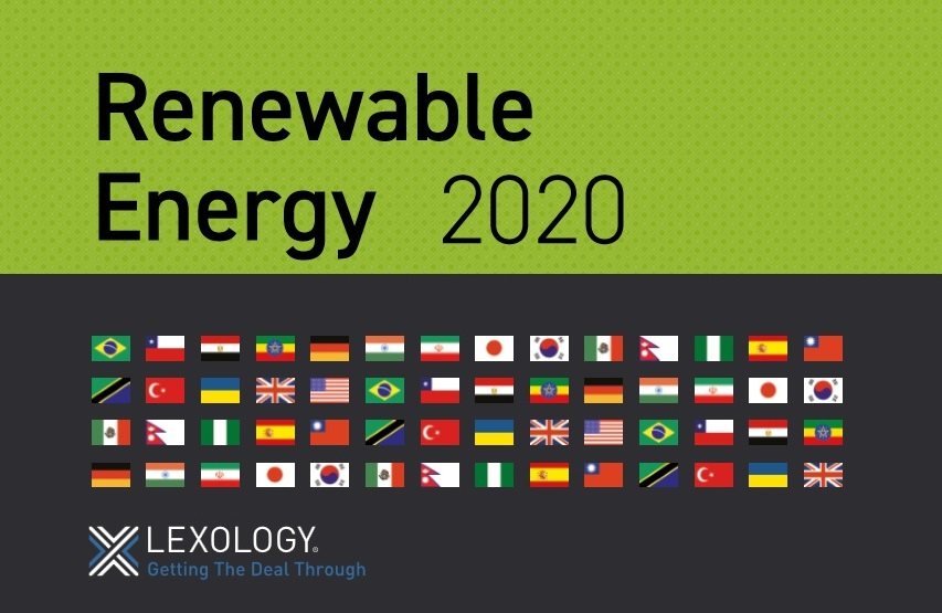 Renewable Energy in Ukraine 2020 by DLF law firm for Lexology Getting the Deal Through